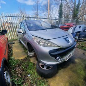 2007 Peugeot 207 1.4 petrol seized engine spares or repair scrap