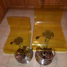 Ghost bar/ breakfast bar stools