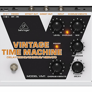 Vintage Style Delay Pedal
