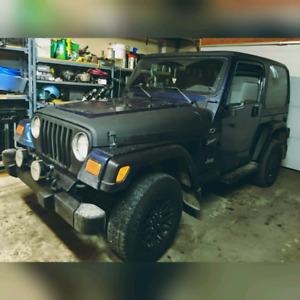 Jeep Tj  Will consider trade for truck or SUV