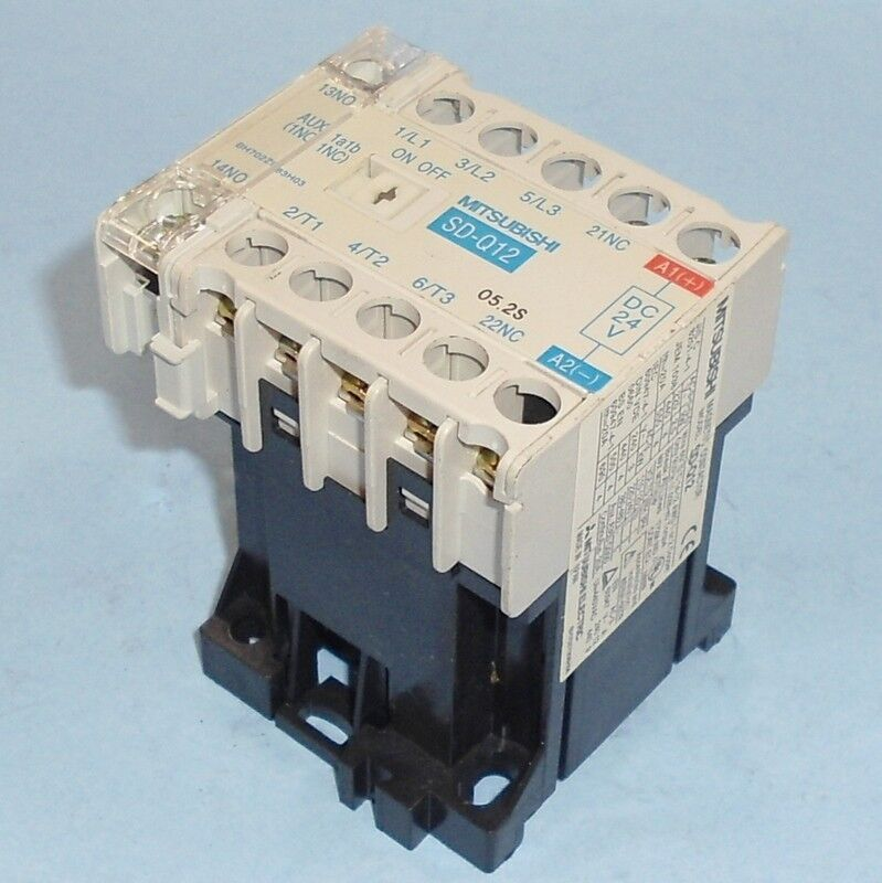 MITSUBISHI ELECTRIC 24VDC MAGNETIC CONTACTOR SD-Q12 *PZB*