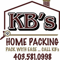 MOVING? KB's Home Packing can help YOU!