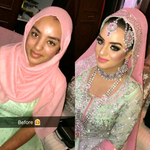 Wedding makeup artist and hairstylist $65up