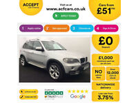 BMW X5 FROM £51 PER WEEK!