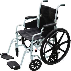 Lightweight Wheelchair/Transport Chair Combo (NEW)