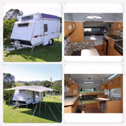 caravan windsor rapid 2010 semi off road Kuluin Maroochydore Area Preview