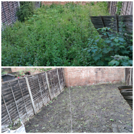 Garden cleaning and general tidy up