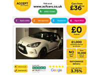 Citroen DS3 CITROEN DS3 DSTYLE DSPORT PLUS DSIGN FROM £36 PER WEEK!
