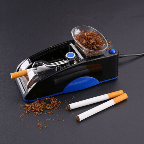 Купить Electric Automatic Cigarette Rolling Machine Tobacco Injector Maker Roller Blue