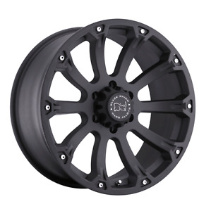 "*** 4 ALL NEW  BLACK RHINO WHEELS *** 20"" 6X139.7"