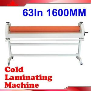 Cold Laminating Machine Laminator with Two Large Rubber Rolls