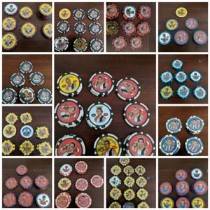 AFL Poker Chips Various Teams