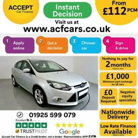 image for 2012 SILVER FORD FOCUS 1.6 TDCI 115 ZETEC 5DR HATCH CAR FINANCE FR £112 PCM