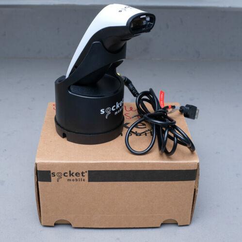 Socket Mobile SocketScan S700 1D CX3397-1855 Barcode Scanner White w Dock