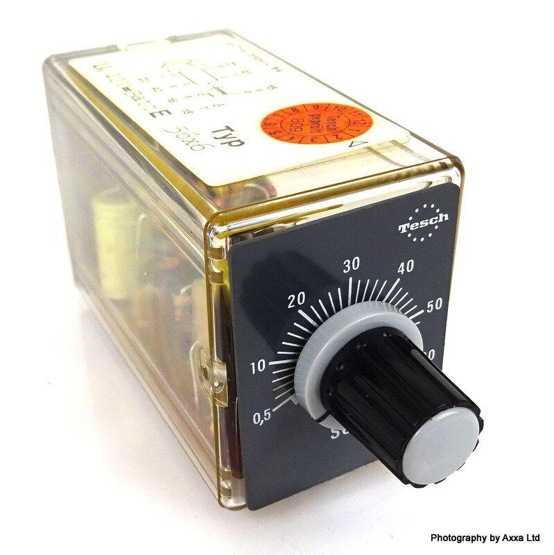 Timer Analogue E56x56 Tesch Coil 110V 0.5-60 Seconds 458461//a E56X56