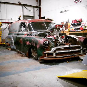 One of a kind RARE rat rod.