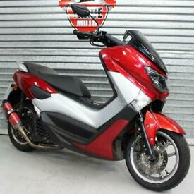 2016 66 YAMAHA GPD125-A NMAX 125 ABS RED LEARNER LEGAL HPI CLEAR TRADE SALE MOTD