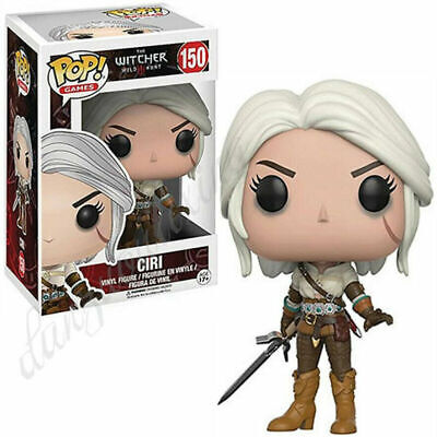UK  Stock Funko POP The Witcher  Movie game character Vinyl Figure Collections