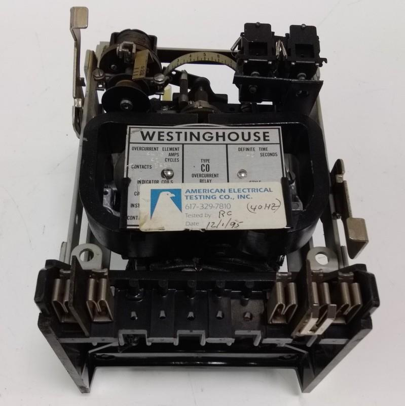 WESTINGHOUSE TYPE CO 4-15A OVERCURRENT LIMIT RELAY