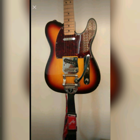 Fender Telecaster with Bigsby and Vibramate. May part ex.