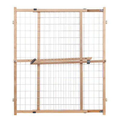 North States  Gray  32 in. H x 29-1/2-50 in. W Wood  Wire Me
