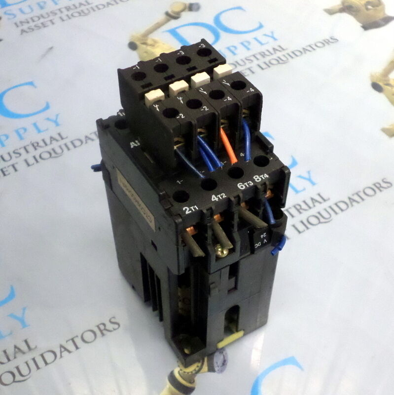ABB KC31E CONTACTOR W/ (4) CA7 AUXILIARY CONTACTS