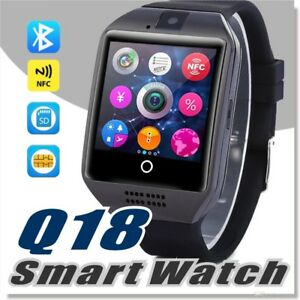 Q18 Smart Watch with Touch Screen Support TF Sim Card Camera for