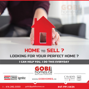 HOME TO SELL? LOOKING FOR YOUR PERFECT HOME?