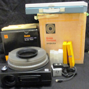 Kodak Carousel 760H Slide Projector and some extra