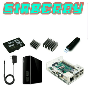 Siaberry – 8TB Siacoin Hosting Contract Harvester