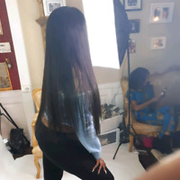 Weave install with 100percent top quality hair