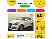 Suzuki Swift Sport FROM £36 PER WEEK!
