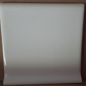 "4 1/4"" x 4 1/4"" White Ceramic Base Tile"