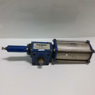 Morin Pneumatichydraulic Rotary Actuator B-023u-s060