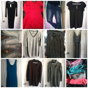 Huge lot of Maternity Clothes New and used.