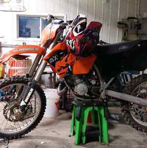 03 ktm 125sx bike is in mint condition willing to trade