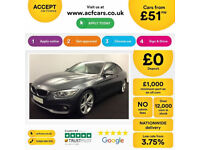 Grey BMW 420d M sport coupe Diesel Auto 2014 FROM £51 PER WEEK!