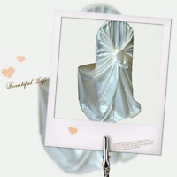 Satin chair covers for rent