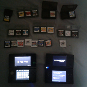Nintendo 3DS + Nintendo DSi + over 20 games