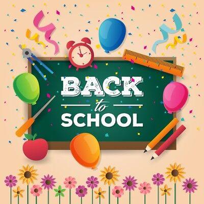 Справочный материал Back To School 6x6ft