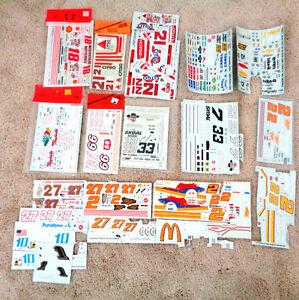Slixx 1/25 Nascar Model Car Coca Cola Miller Porsche 926 Decals