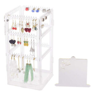 Brand New Rotating Earring Jewelry Organizer Necklace Holder
