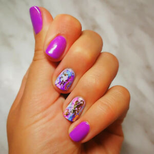 Gel manicure and nail enhancement