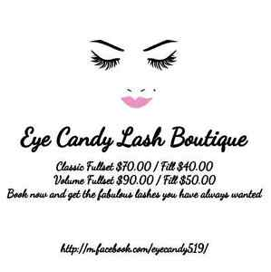 Eyelash Extensions by Eye Candy Lash Boutique  London Ontario image 1