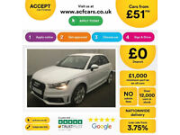 Audi A1 S Line FROM £51 PER WEEK!