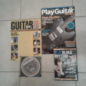 GUITAR BOOKS & DVD'S