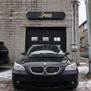 BMW 525 Xi 2006, cuir, toit, AWD, IMPECCABLE