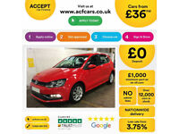Volkswagen Polo FROM £36 PER WEEK!