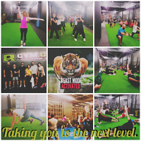 Boxing classes +conditionning classes