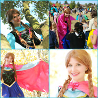 Have Frozen Ice Princess Anna at your next party!
